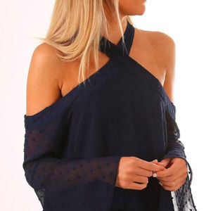 The Fifth Label, Freya Top, Navy, Size M, NWT
